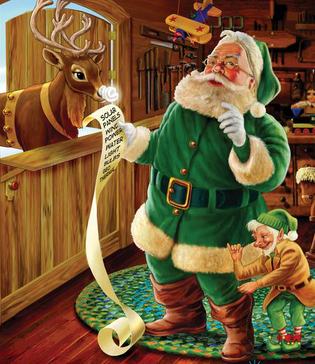 La Storia Babbo Natale.Ho Ho Ho Arriva Babbo Natale